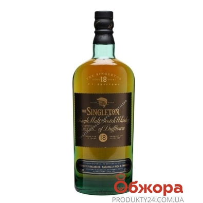 Виски Синглтон (Singleton) of Dufftown 18 лет 0,7л – ИМ «Обжора»