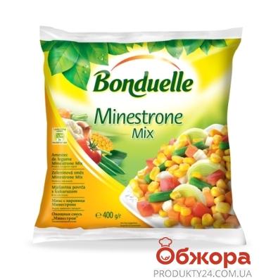 Зам, Овочі Бондюель 400г Мінестроне суміш – ІМ «Обжора»