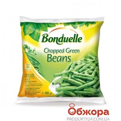 Зам, Овочі Бондюель 400г квасоля зелена стручк, ціла – ІМ «Обжора»