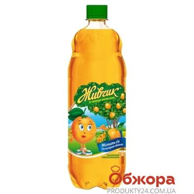 Вода Оболонь Живчик Апельсин 1 л – ИМ «Обжора»