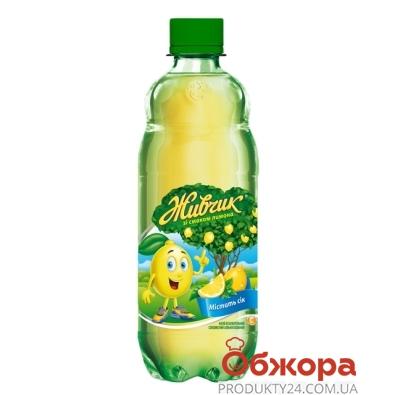 Вода Оболонь Живчик Лимон 0,5 л – ИМ «Обжора»