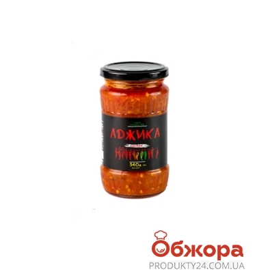 Аджика Рецепты Тетушки Адж острая 340г – ИМ «Обжора»