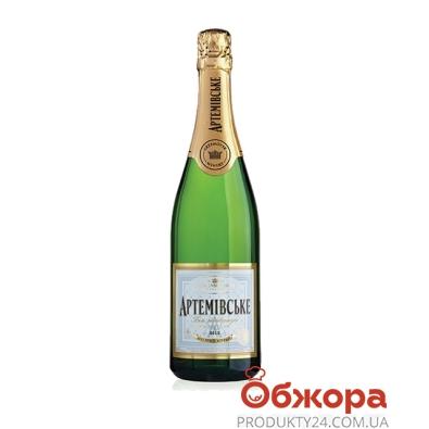 Шампанское Артемовское выдержанное 0.75 л – ИМ «Обжора»