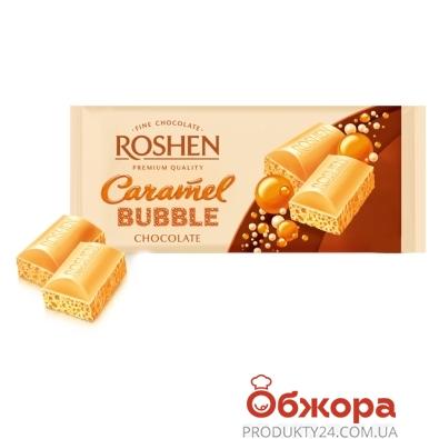 Шоколад Рошен (Roshen) пористый карамель 85 г – ИМ «Обжора»