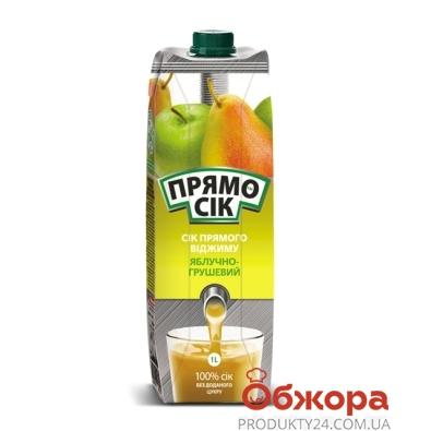 Сок Прямо сок яблоко-груша 0.95 л – ІМ «Обжора»