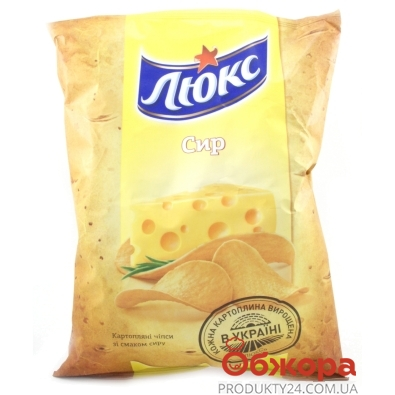 Чипсы Люкс 183г сыр – ИМ «Обжора»