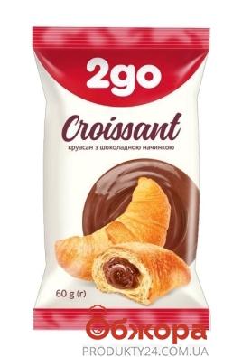 Круассан 2go 60г шоколад – ИМ «Обжора»