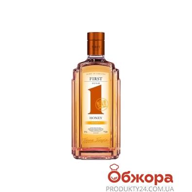 Водка First Guild Honey 0,5л – ИМ «Обжора»
