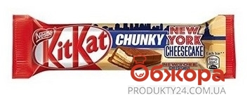 """Шоколадный батончик """"КитКат"""", чанки, 42 г – ИМ «Обжора»"""