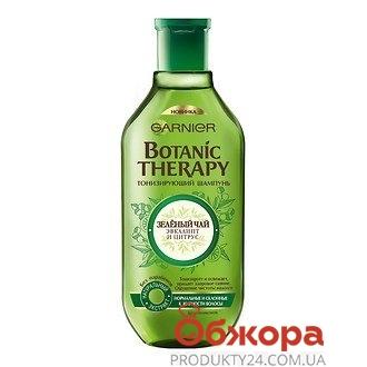 Ополіскувач Garnier Botanik therapy Зел.чай, евкаліпт та цитрус 200 мл – ІМ «Обжора»