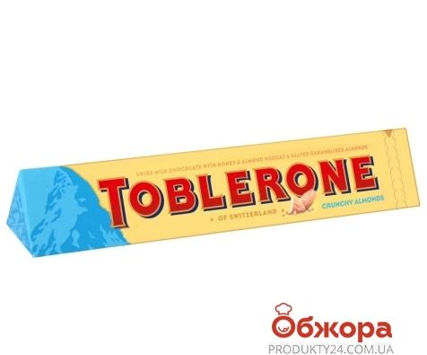 Шоколад Таблерон молочный с хрустящим миндалем, 100 г – ИМ «Обжора»