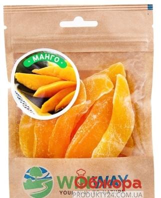 Сухофрукты WINWAY 100г манго сушеный Новинка – ИМ «Обжора»