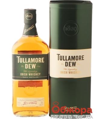 Виски Тюламор Дью 0,7 л металлическая коробка – ИМ «Обжора»