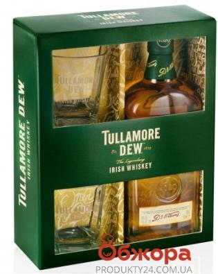 Виски Таламор Дью 0,7л+2 бокала Набор – ИМ «Обжора»
