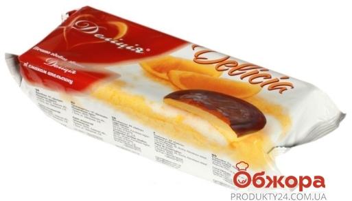 Печенье Делиция 135г делиция апельсин Новинка – ИМ «Обжора»