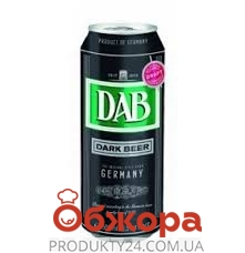 Пиво DAB 0,5л ж/б темне – ІМ «Обжора»
