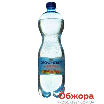 Вода Оболонська 2,0л грейпфрут и имбирь Новинка – ИМ «Обжора»
