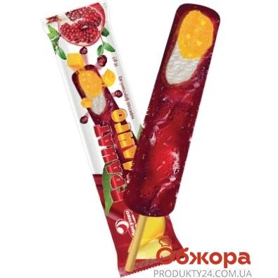 Мороженое Ласунка 95г Гранат-Манго сок эскимо НОВИНКА – ИМ «Обжора»