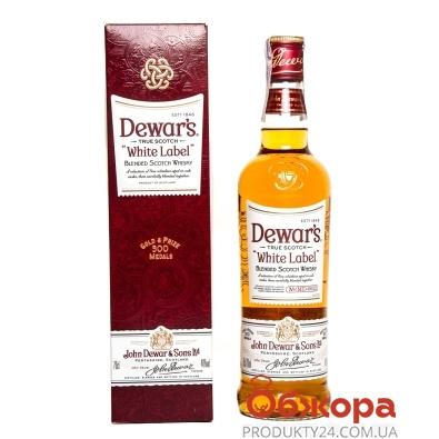 Виски Дюарс Вайт Лейбл 0,7л 40% короб – ИМ «Обжора»