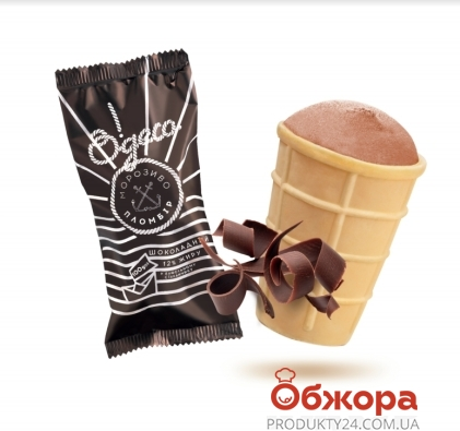 Мороженое Одесса шокол. 100г ваф.ст. – ИМ «Обжора»