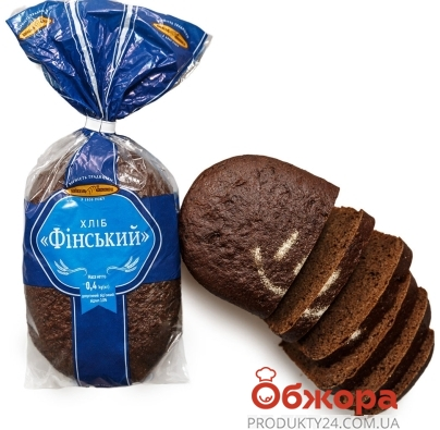"Хлеб, ""Київхліб"", 400 г, ""Финский"" – ИМ «Обжора»"