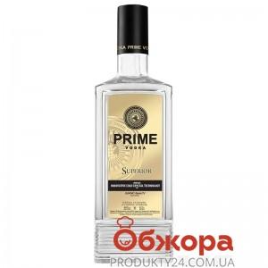 Водка, Prime Superior, 0,5 л, с чаркой – ИМ «Обжора»