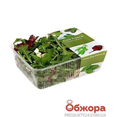 Микс салатов, Fino Fresco (Руккола+Радичио), 125 г – ИМ «Обжора»
