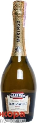 """Вино игристое белое полусладкое """"Маренго"""", 0,375 л – ИМ «Обжора»"""