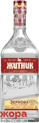 "Водка Др.Житник ""Зернова"", 0,5 л – ИМ «Обжора»"