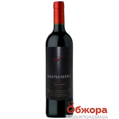 Вино Сол Сомбра (Sol Sombra) красное сухое, 0,75 л – ИМ «Обжора»