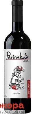 Вино красное сухое PARINAKOTA Каберне-Совиньон, 0.75 л – ИМ «Обжора»