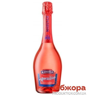 """Винный напиток сладкий розовый """"Маренго"""" Аперитиво, 0.75 л – ИМ «Обжора»"""