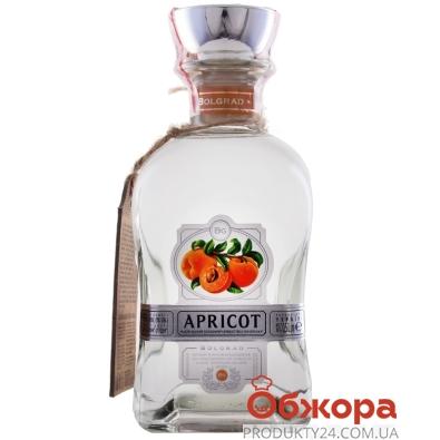 Напій міцний плодовий Bolgrad 0,5л 40% Абрикосівка Українська – ІМ «Обжора»