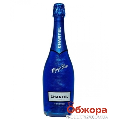 Напиток винный Шантель Волшебный синий 0.75 л полусладкий белый – ИМ «Обжора»