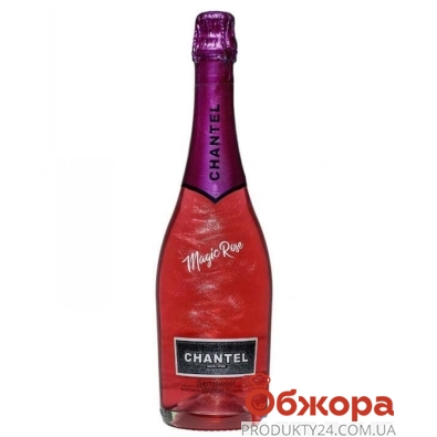 Напиток винный Шантель Волшебный розовый 0.75 л полусладкий – ИМ «Обжора»