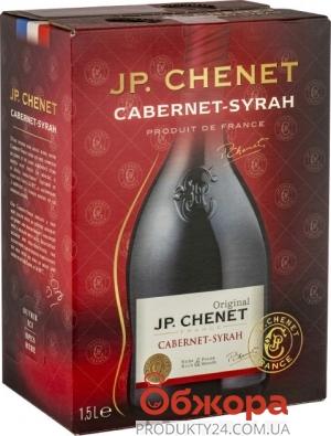 Вино Жан Поль Шене Каберне-Сира 1,5 л красное сухое Франция – ИМ «Обжора»