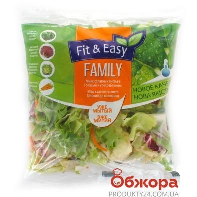 Салат смесь`FAMILY` 250 г – ИМ «Обжора»