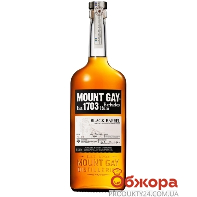 ZZZРом Mount Gay Black Barrel 0,7 л – ІМ «Обжора»