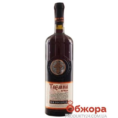 Вино Таирово Таємна вечеря 0,7 л красное полусладкое – ИМ «Обжора»