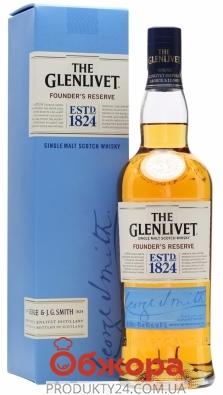 Виски Glenlivet Founders Reserve 0,5 л 40% – ИМ «Обжора»