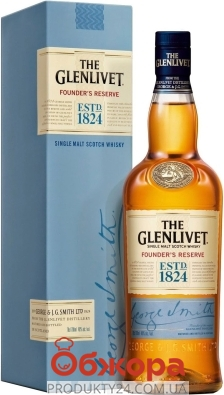 Виски Glenlivet Founders Reserve 0,7 л 40% – ИМ «Обжора»