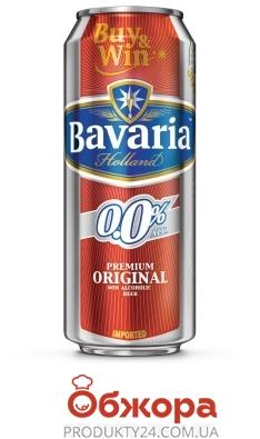 Пиво Баварія 0.5л ж/б б/а ІМП – ІМ «Обжора»