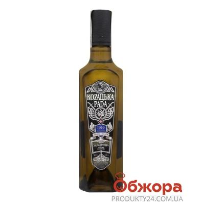 Горілка Козацька рада 0,5л 40% Характерна – ІМ «Обжора»
