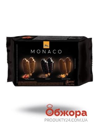 Мороженое Три Медведя Monaco Набор эскимо мини 6 шт 270 г – ИМ «Обжора»