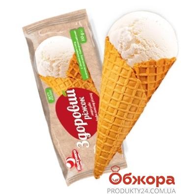 Мороженое Ласунка Здоровый рожок 110 г – ИМ «Обжора»