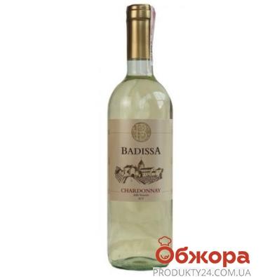 Вино Badissa Шардоне белое сухое Италия 0,75 л – ИМ «Обжора»