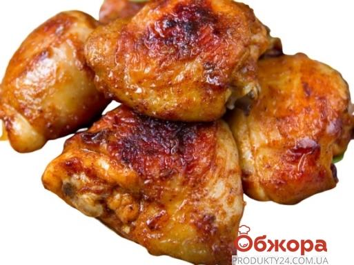 Куриные бедра гриль с соусом барбекю – ИМ «Обжора»