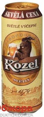 Пиво Великопоповицкий Козел 0.5л ж/б світле – ІМ «Обжора»