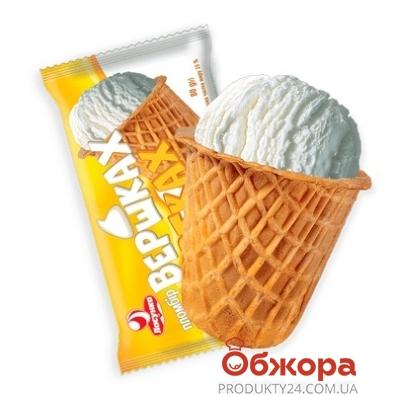 Мороженое Ласунка На сливках и желтках сахарный стаканчик 80 г – ИМ «Обжора»