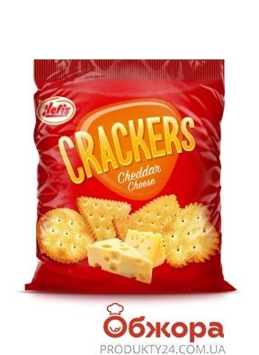 Крекер NEFIS `Crackers Ceddar` 100 г – ИМ «Обжора»